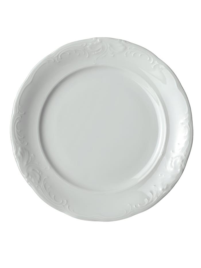 Kristoff Matservis i 12 delar, enfärgad vit
