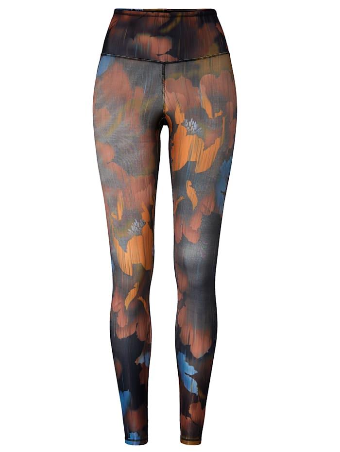 MANDALA Yoga-Leggings, Multicolor