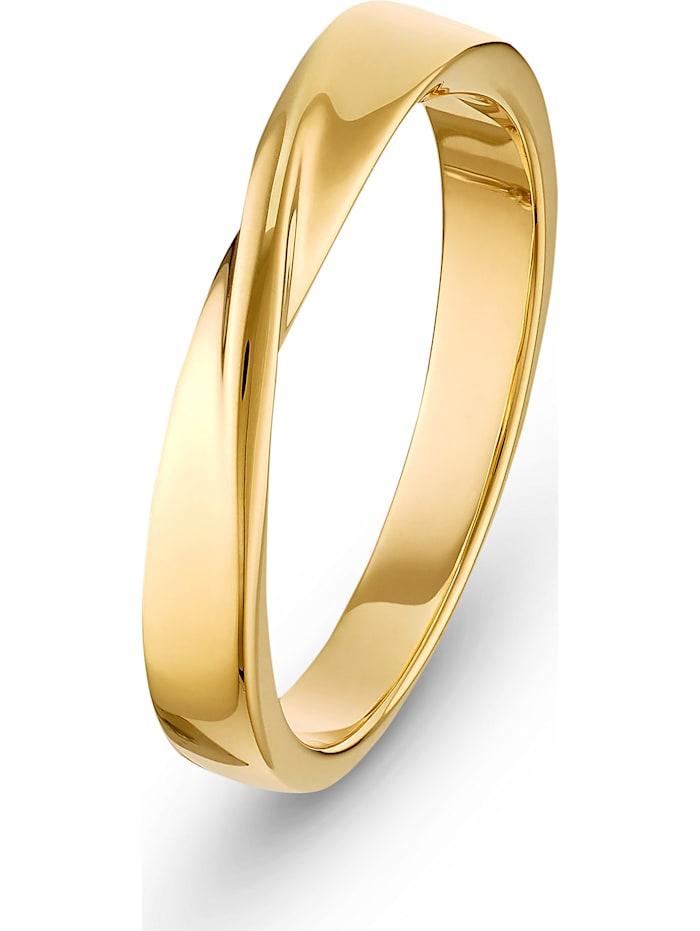 CHRIST C-Collection CHRIST Damen-Damenring Ring 585er Gelbgold, gelbgold