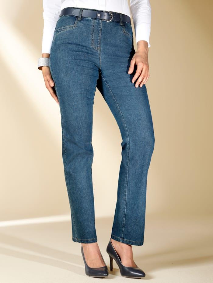 Jeans met versierde achterzakken