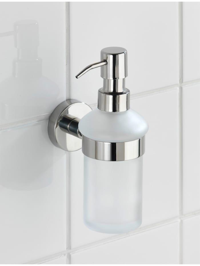 Seifenspender Bosio Edelstahl glänzend, rostfrei, ca. 200 ml