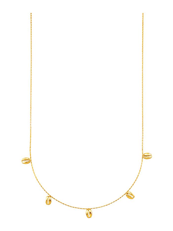 Amara Gold Collier in Gelbgold 585, Gelbgoldfarben