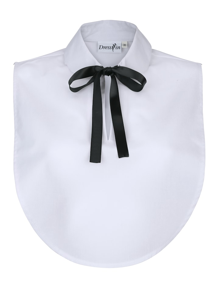 Dress In Collar, white m black s