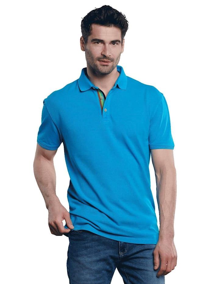 Engbers Poloshirt, Wasserblau