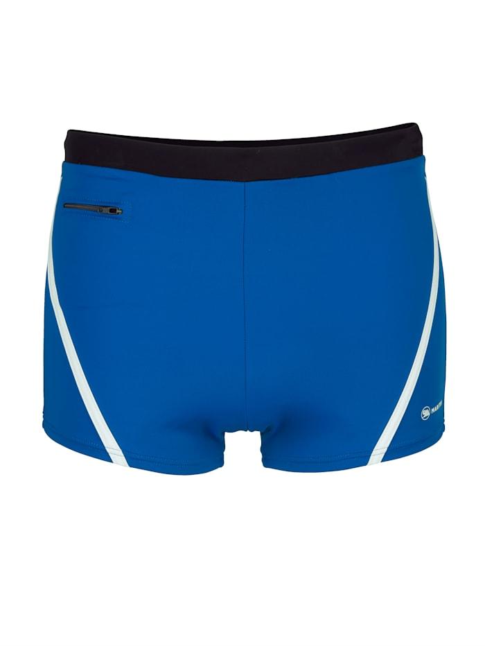 Maritim Zwembroek in sportief design, Royal blue