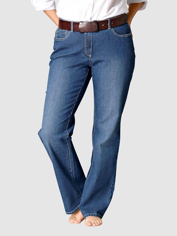 Dollywood Straight Cut Jeans Stella, Blau