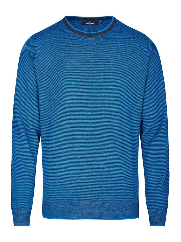 Daniel Hechter Modern Fit Pullover, steel blue