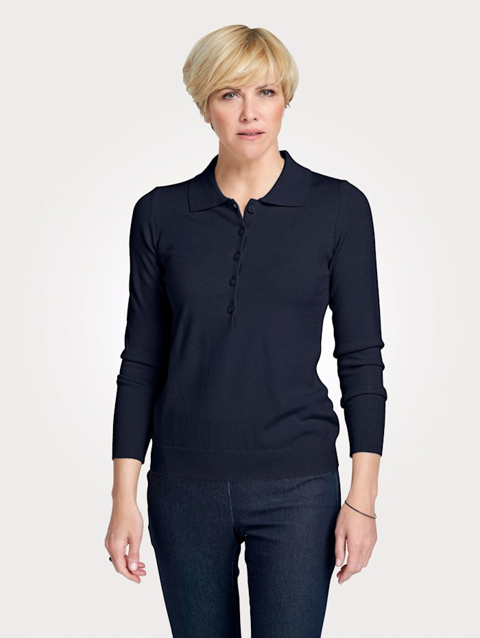 Pull-over en maille douce