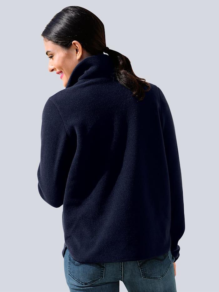 Fleece trui van zachte fleece