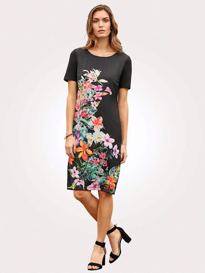 Jerseykleid mit Blumendessin