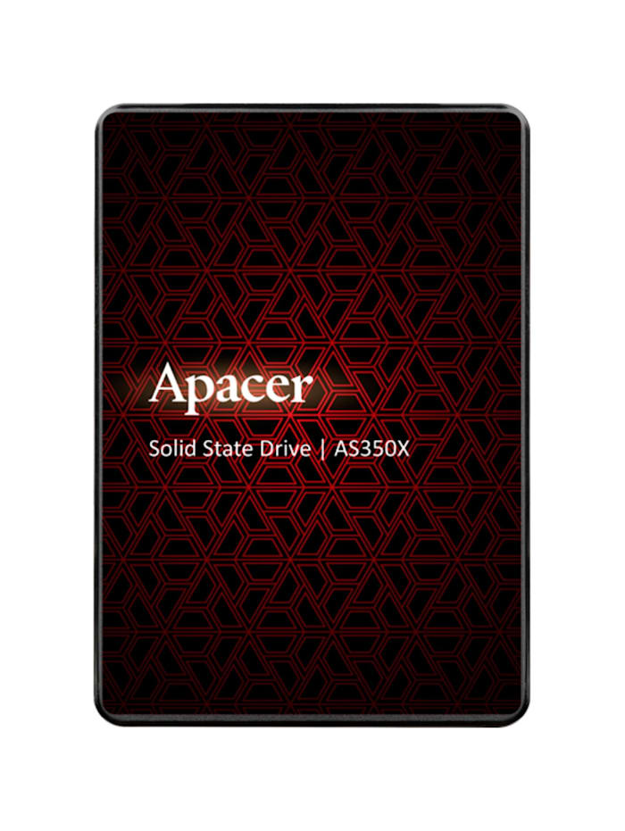 Apacer SSD AS350X 256 GB, Schwarz