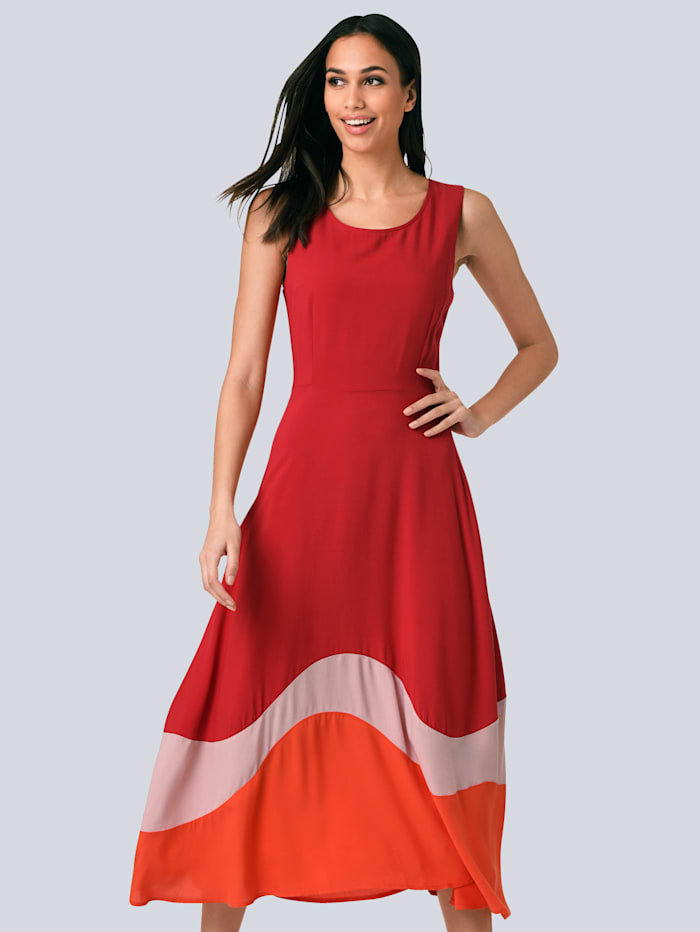 Alba Moda Kleid Aus Reiner Viskose Alba Moda