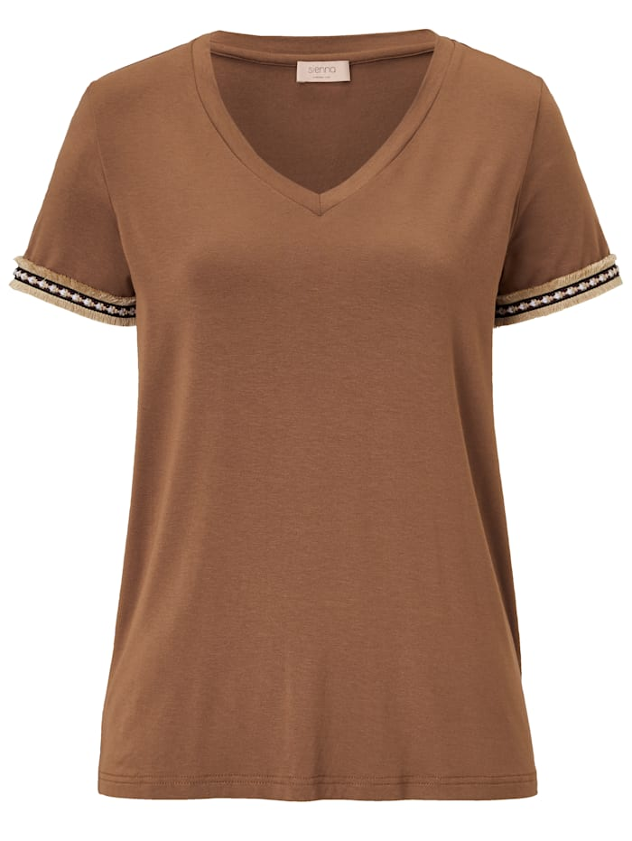 SIENNA T-Shirt, Camel