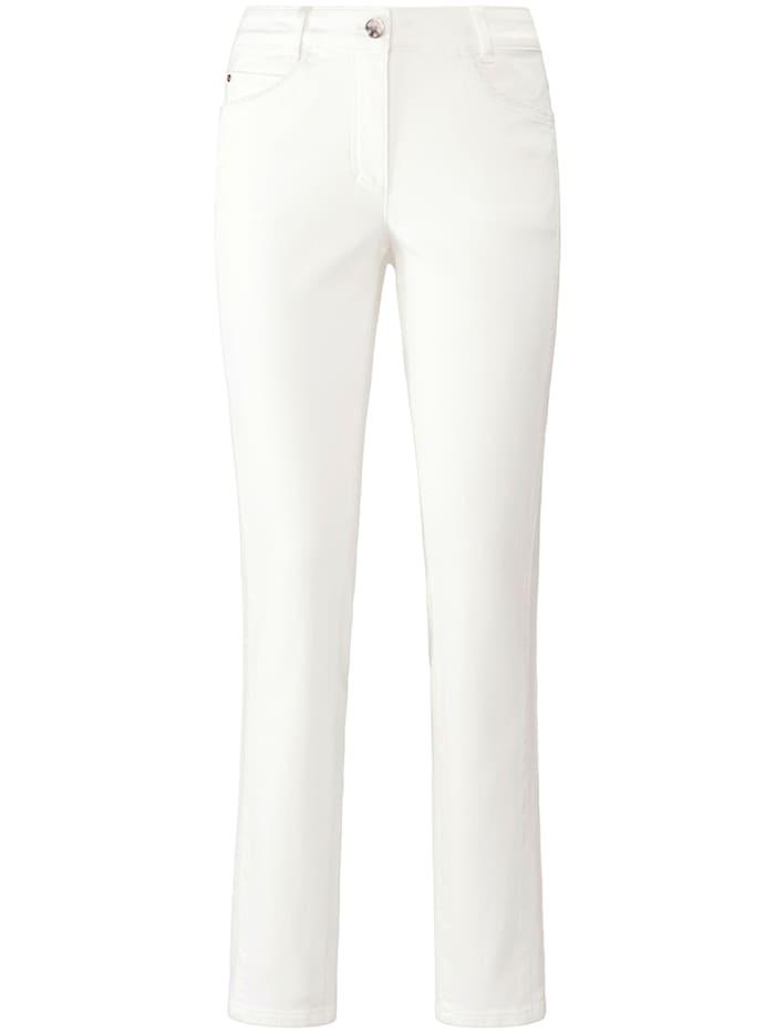 """Basler 5-Pocket-Jeans """"Julienne"""" mit Nieten, offwhite"""