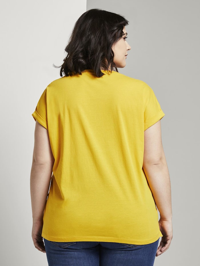 Print T-Shirt mit Bio-Baumwolle