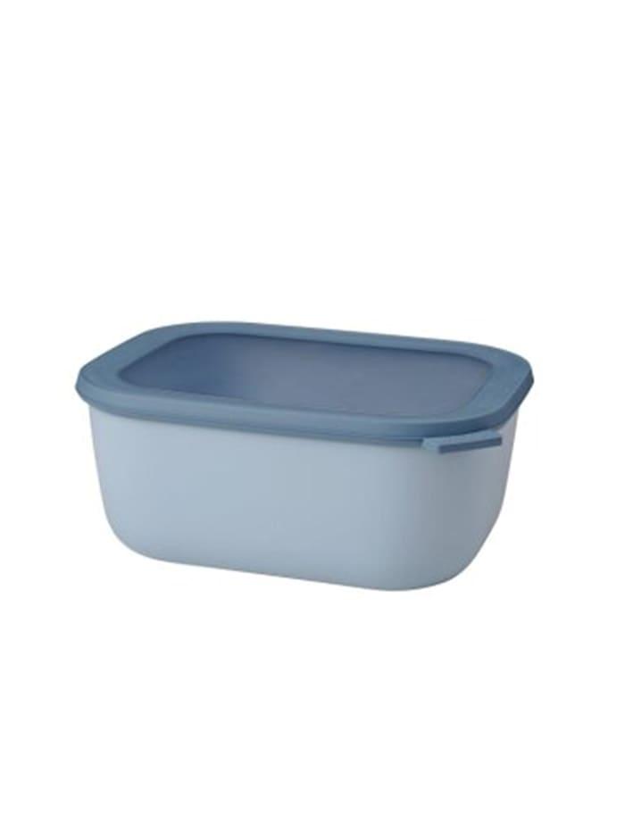 Rosti Mepal Frischhaltedose Multischüssel Cirqula Nordic blue, Nordic Blue