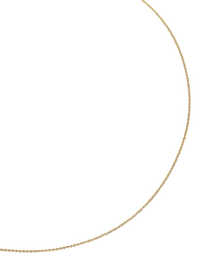 Amara Or Chaîne maille ancrée en or jaune, Jaune