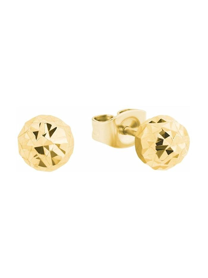 amor Ohrstecker für Damen, Gold 375, klein, Gold