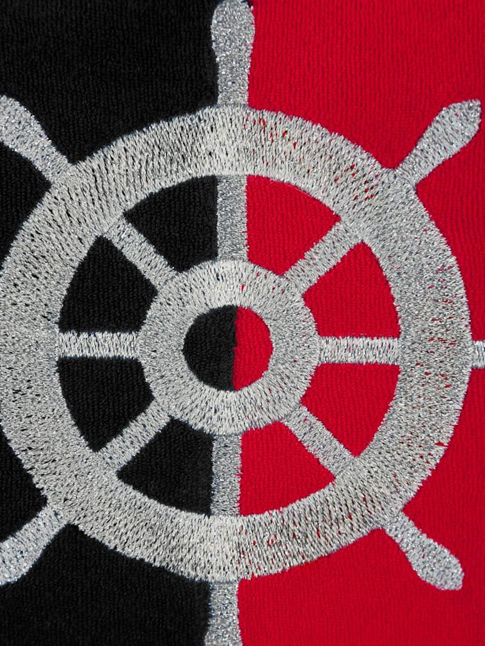 Strandkleid mit maritimer Stickerei