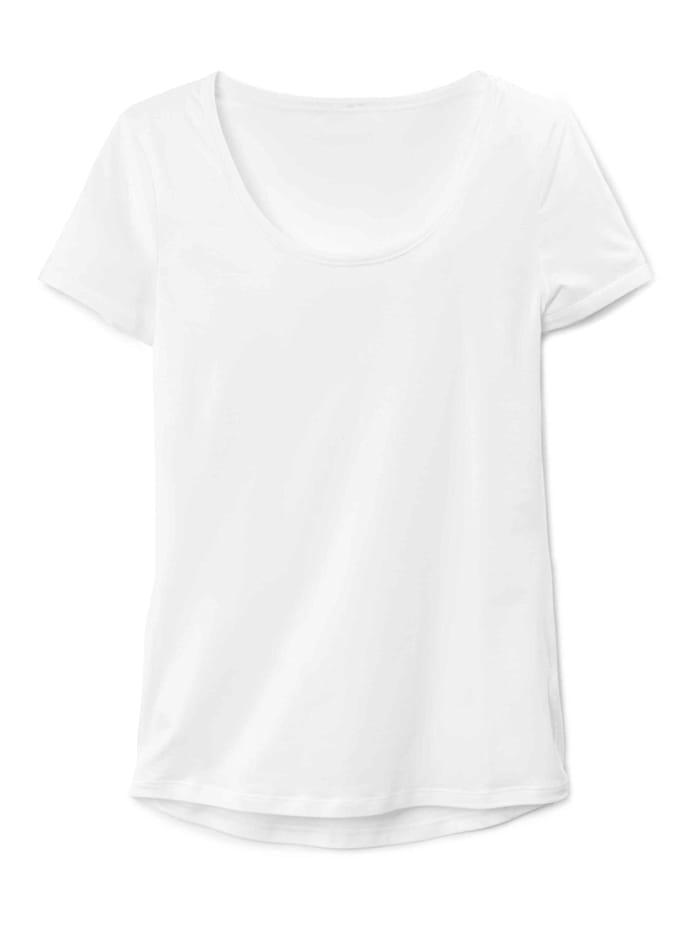 Calida Shirt kurzarm STANDARD 100 by OEKO-TEX zertifiziert, White