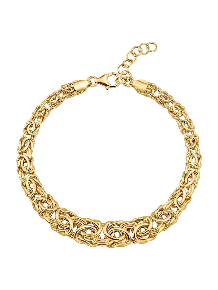 Diemer Gold Königskettenarmband in Gelbgold 585, Gelbgoldfarben