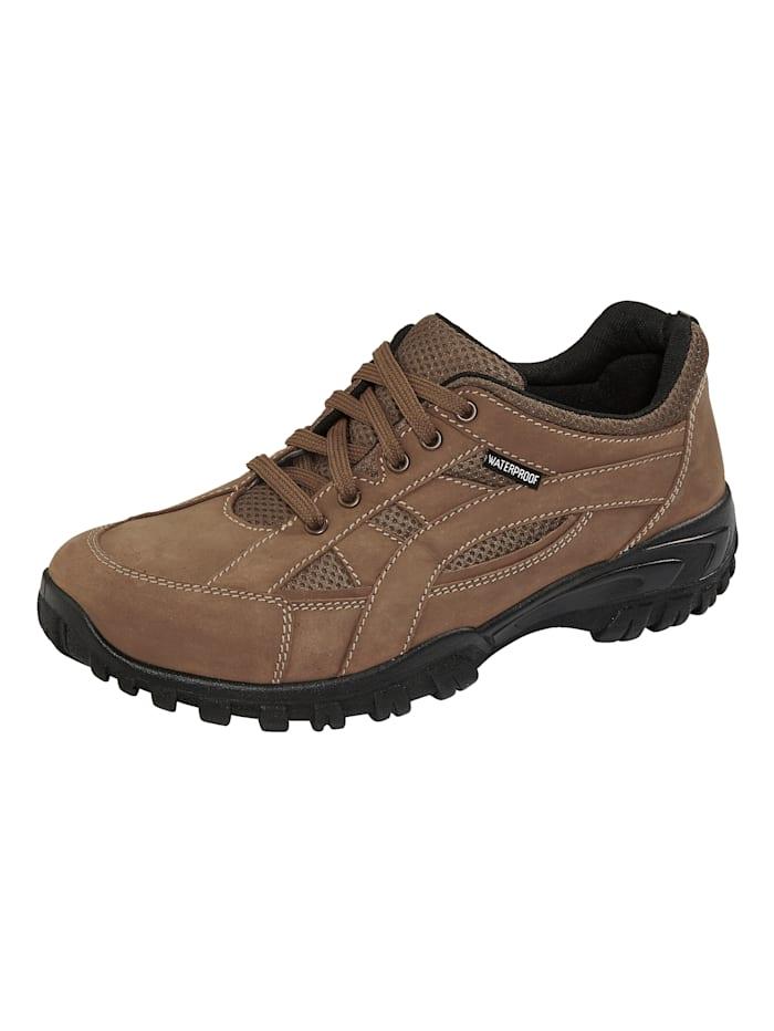 Roger Kent Chaussures de trekking à membrane climatisante, Marron