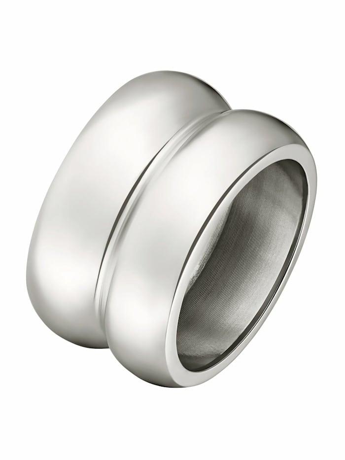 Noelani Ring für Damen, Stainless Steel, Silber