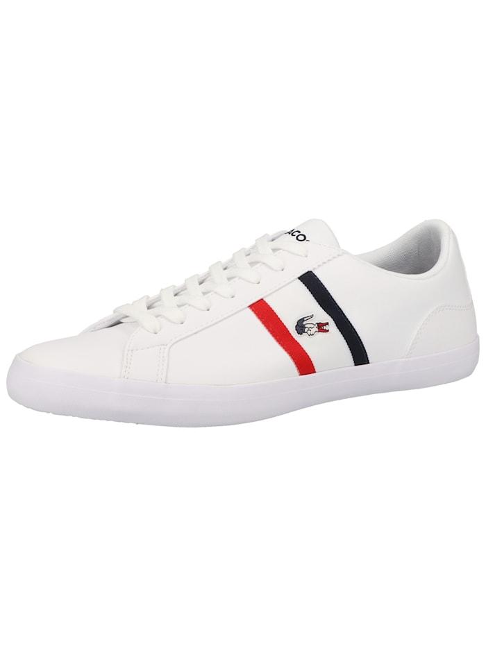 LACOSTE LACOSTE Sneaker, Weiß/Rot