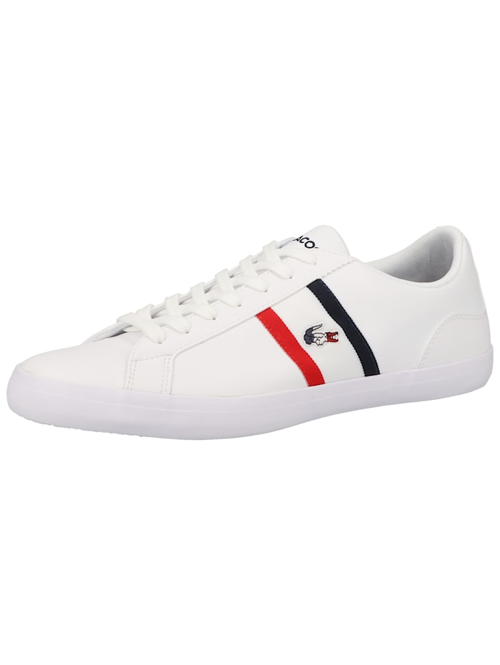 LACOSTE LACOSTE Sneaker LACOSTE Sneaker, Weiß/Rot