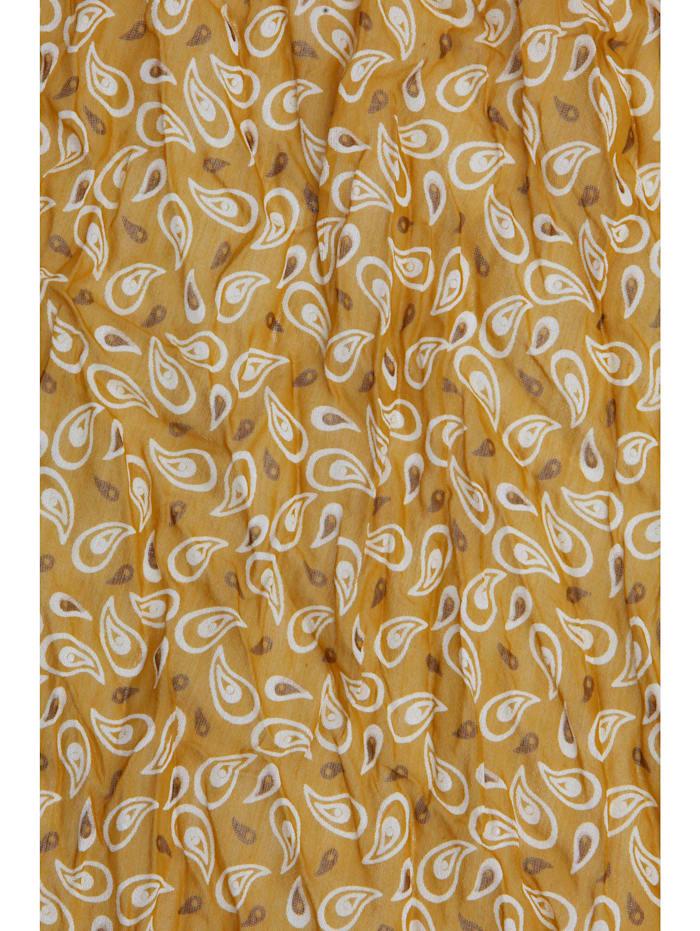 Italienischer Schal Thassia mit schönem Paisley Muster mit Seidenanteil