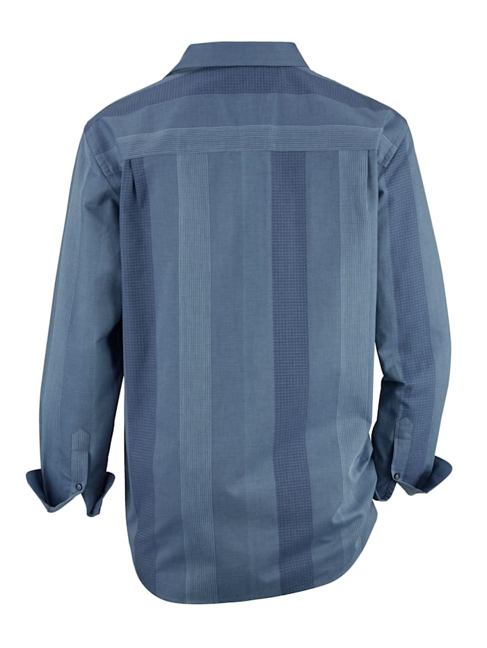 Overhemd in lichte glanslook