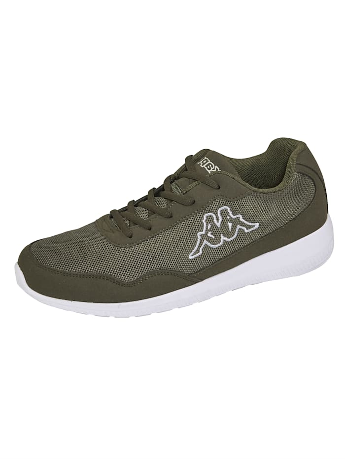 Kappa Sneaker obuv v mesh vzhľade, Khaki