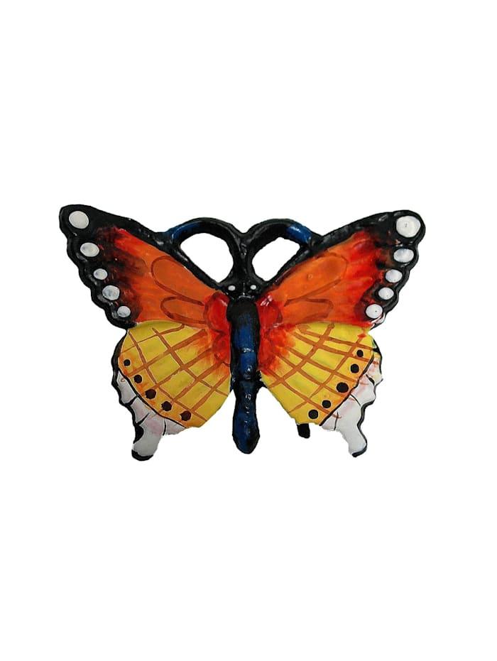 Geschenkset aus Gusseisen Wanddeko Marienkäfer, Biene und Schmetterling