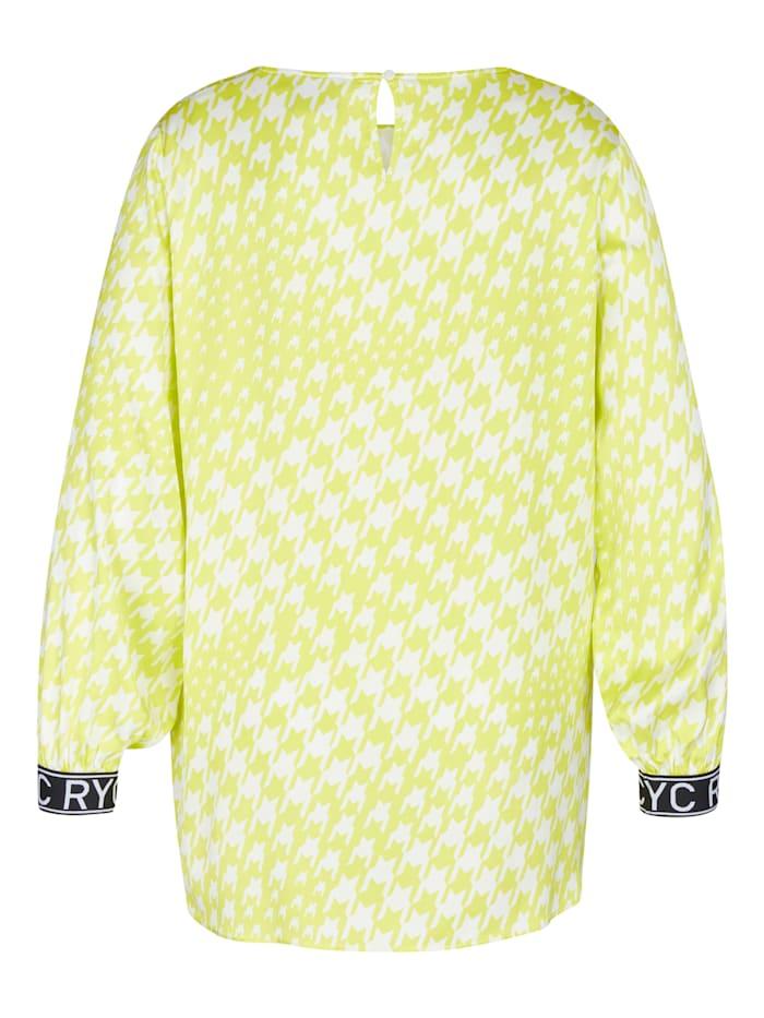 Blusenshirt mit Seitenschlitzen