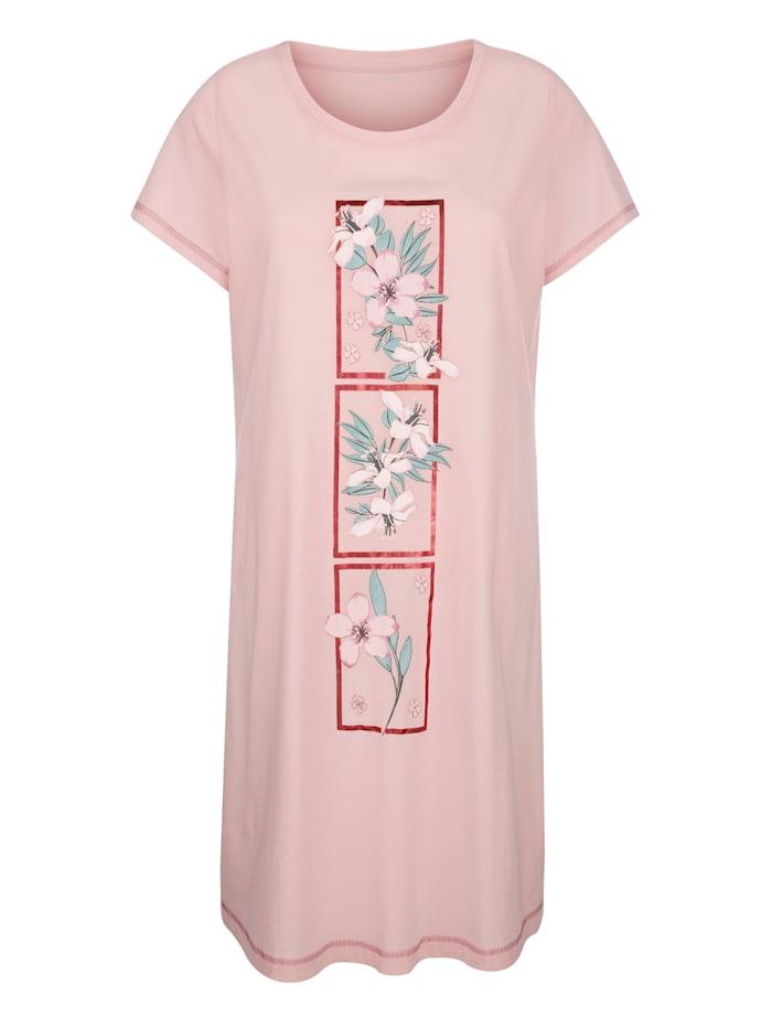 Nachthemden mit floralem Druckdessin