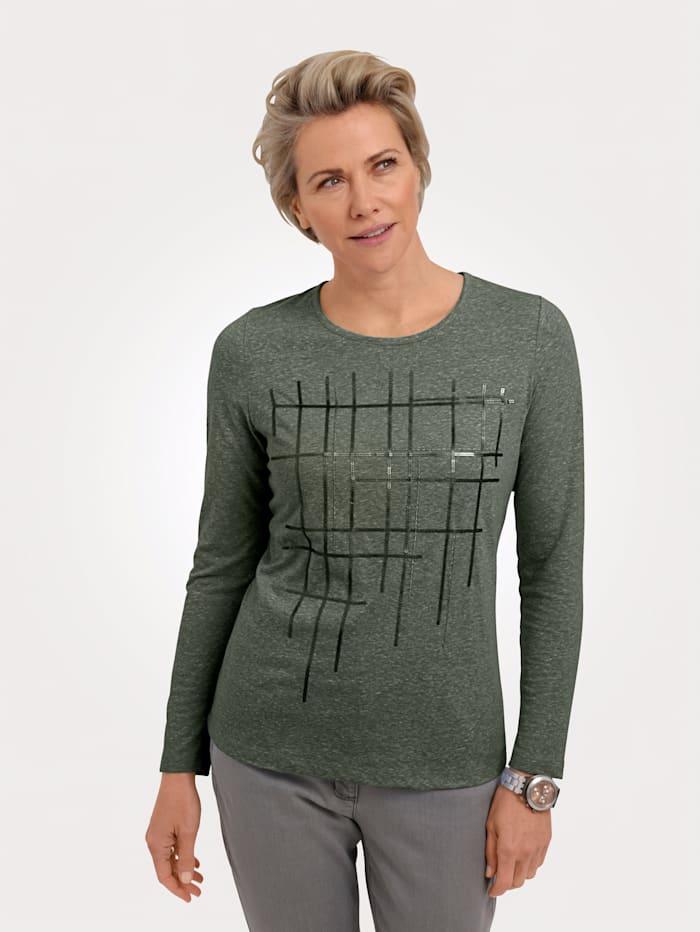 MONA Shirt zum Preisvorteil, Oliv