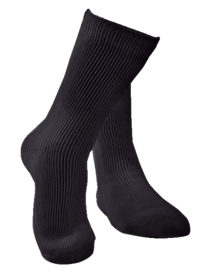 MedoVital Sokker som holder på varmen, Svart