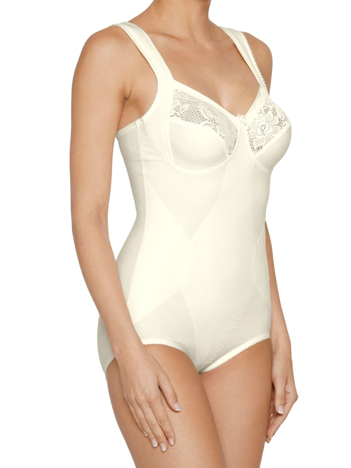 Miss Mary Corselet in corrigerend model, Champagne