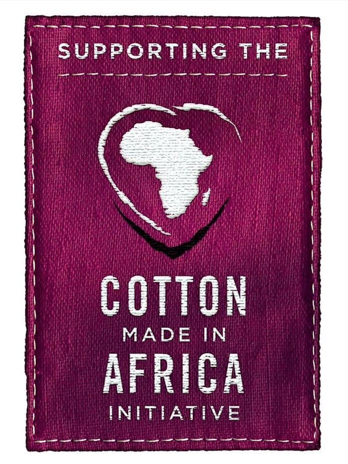 """Noční košile z programu """"Cotton made in Africa"""""""