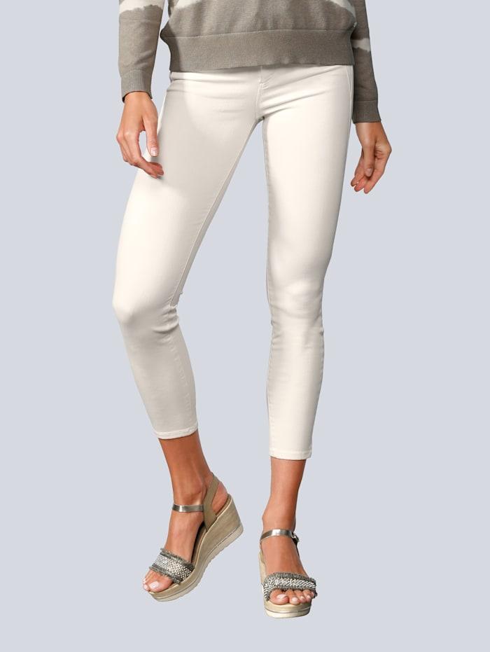BRAX Jeans in schmaler Form, Creme-Weiß