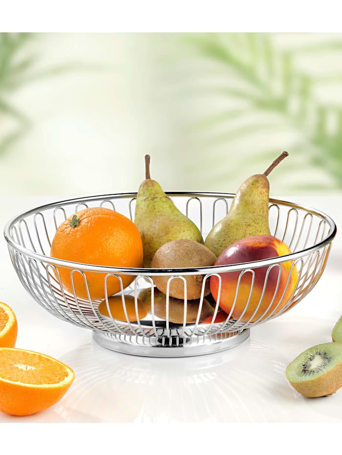 Frukt- och brödkorg