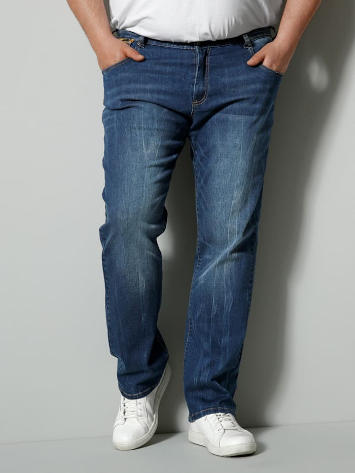Men Plus Jeans Spezialschnitt, Blue stone