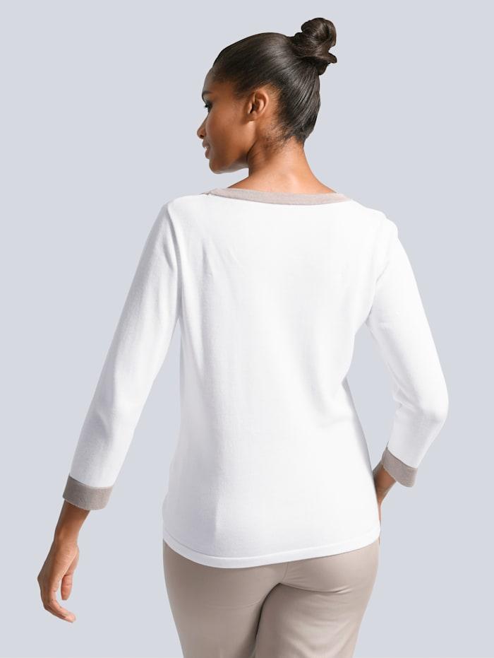 Pullover in klassischer Silhouette