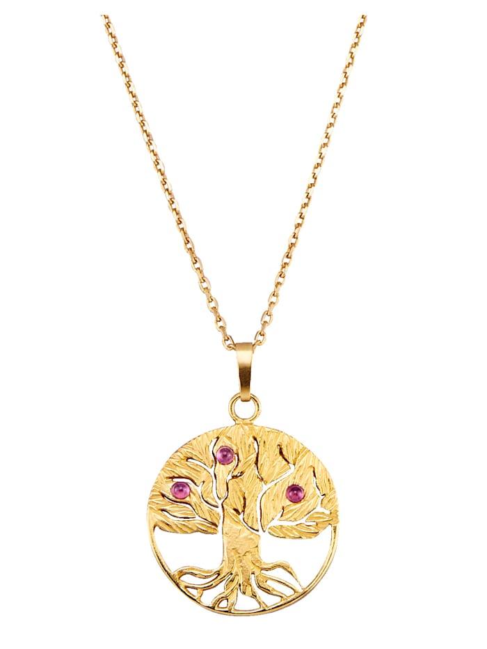 Ursula Christ Halsband av guldfärgat silver 925, Guldfärgad