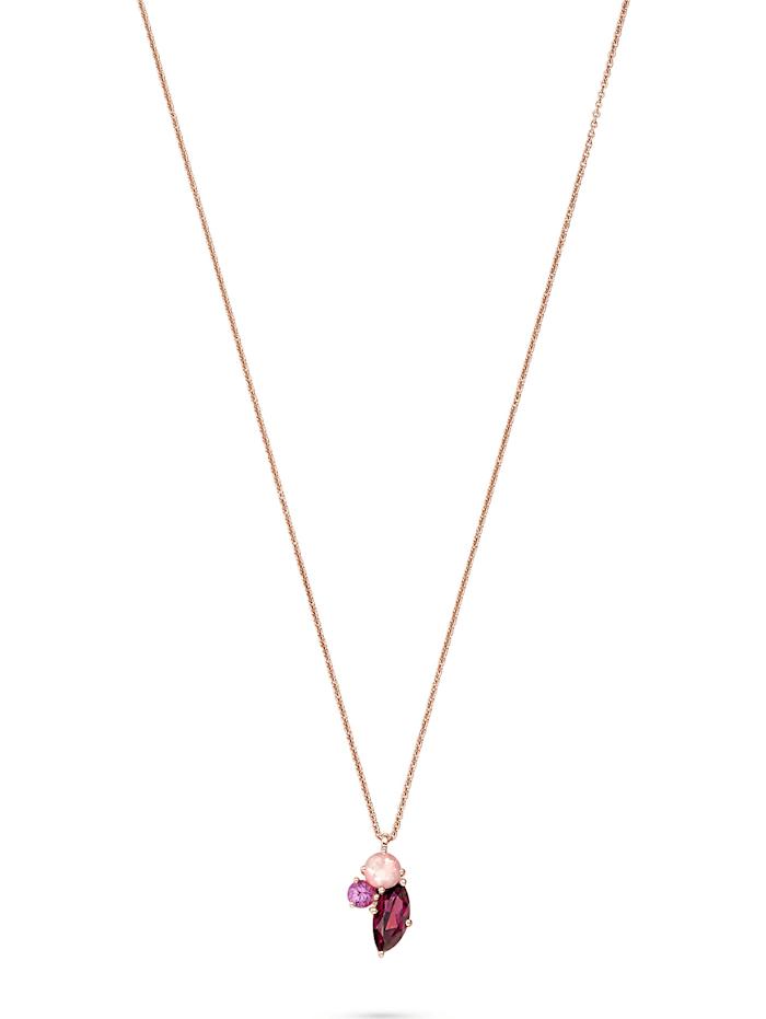 CHRIST C-Collection CHRIST Damen-Kette 585er Roségold 1 Saphir, roségold