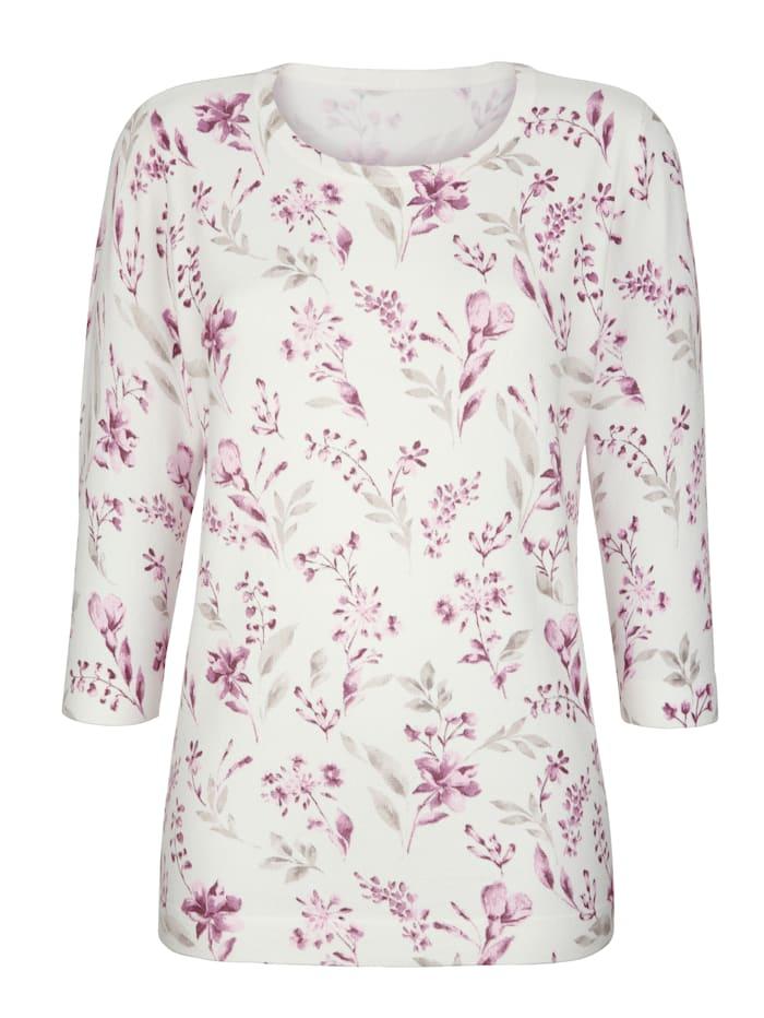 Pullover mit floralem Design