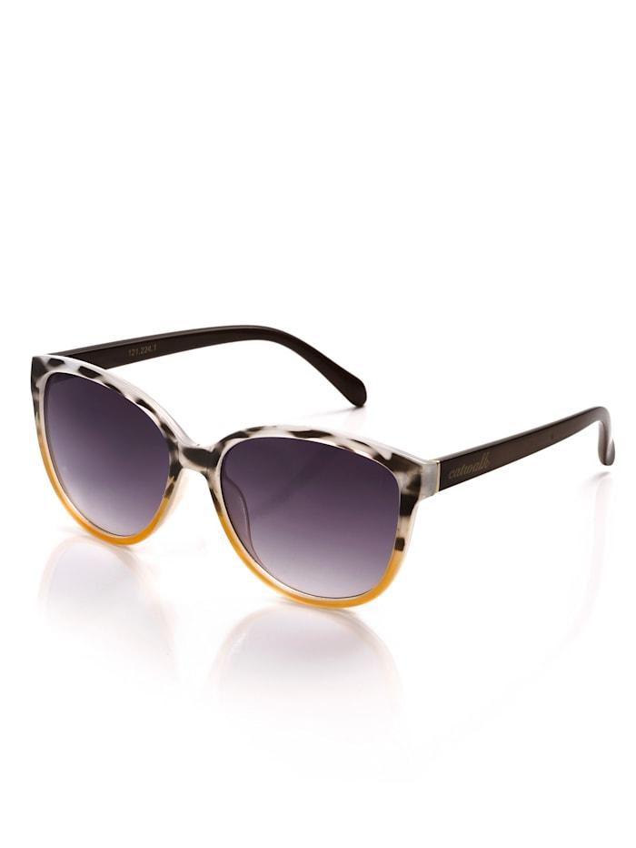 Alba Moda Sonnenbrille in Leo-Optik, leo