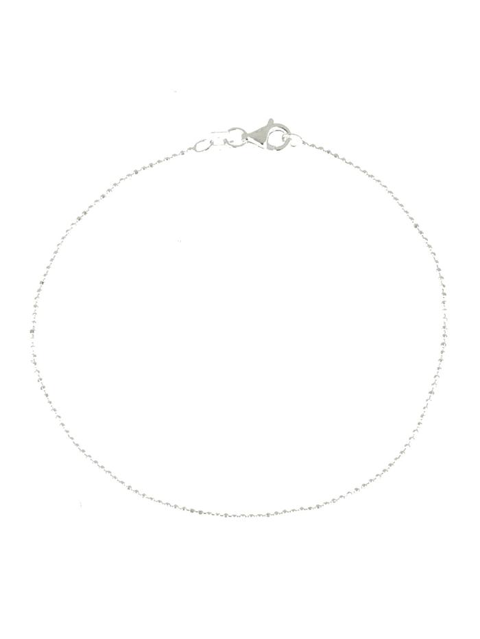 Grazielli Armband van echt zilver, Zilverkleur