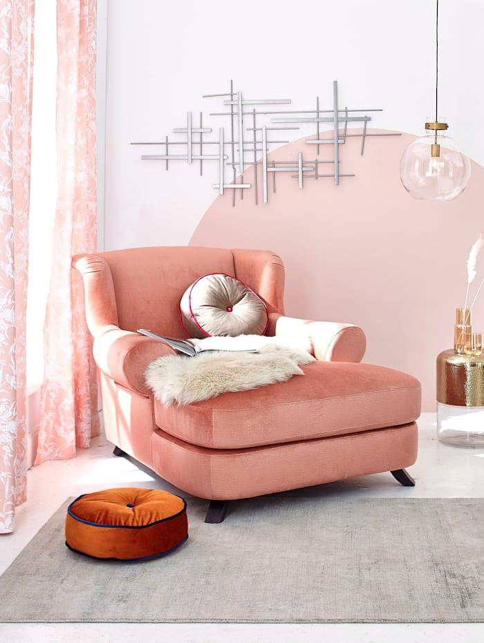 IMPRESSIONEN living Longchair, Rosé