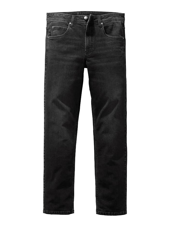 BABISTA Jeans in used look, Zwart